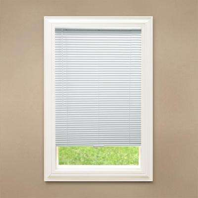 1 in  Blackout Cordless Vinyl Mini Blind