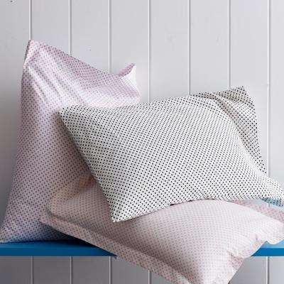 Swiss Dot Cotton Percale Pillowcase (Set of 2)