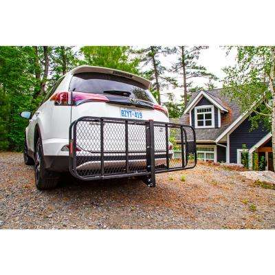 500 lb. Capacity Folding Hitch Cargo Carrier