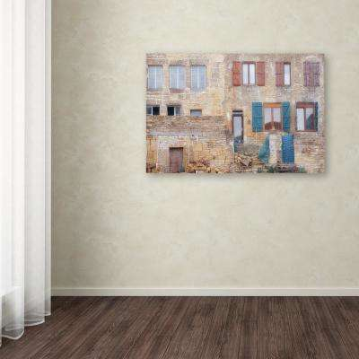 "30 in. x 47 in. ""Facade II"" by Cora Niele Printed Canvas Wall Art"