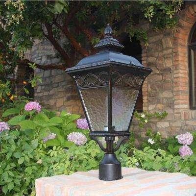 Cheri 1-Light Outdoor Oil-Rubbed Bronze Post Light