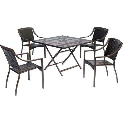 Orleans 5-Piece Square Patio Dining Set