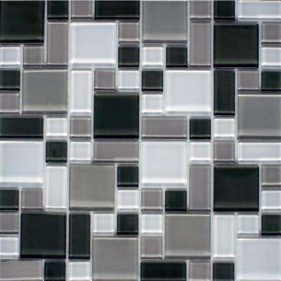 Peel and Stick Glass Wall Tile - 3 in. x 6 in. Tile Sample