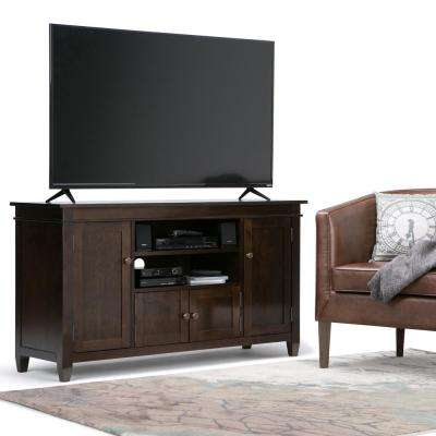 Carlton Tobacco Brown Storage Entertainment Center