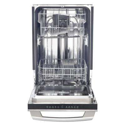IQ-Touch 18 in. Top Control Dishwasher in Stainless Steel with Stainless Steel Tub, ENERGY STAR