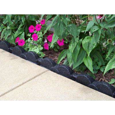 20 ft., 12 in. Pieces Black Rubber Edging