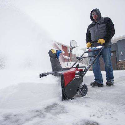 Power Clear 21 in. 60-Volt Lithium-Ion Brushless Cordless Electric Snow Blower with 7.5 Ah Battery/Charger Included