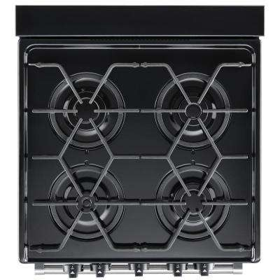 3.0 cu. ft. Gas Range with Sealed Burners in Stainless Steel