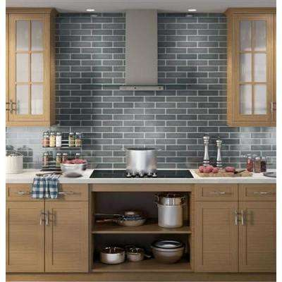 Profile 36 in. Convertible Chimney Range Hood in Slate, Fingerprint Resistant