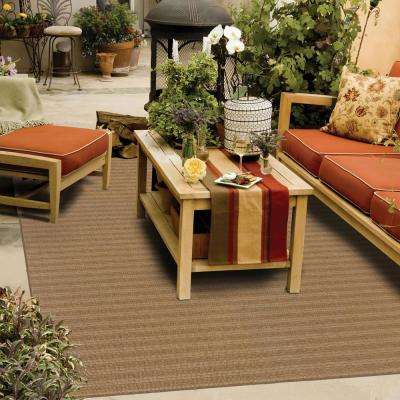 Caicos Tan 4 ft. x 6 ft. Outdoor Area Rug