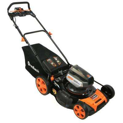 21 in. 120-Volt Lithium-Ion Battery Walk Behind Push Mower