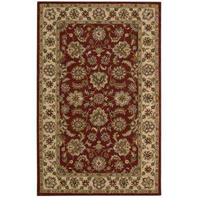 India House Red 8 ft. x 10 ft. 6 in. Area Rug