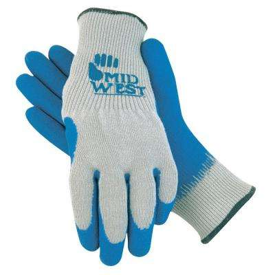 Men's Knit Liner Glove with Rubber Coating (6-Pack)
