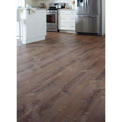 Burnt Oak 8.7 in. x 47.6 in. Luxury Vinyl Plank Flooring (20.06 sq. ft. / case)