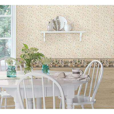 Harlow Everything Grows With Love Wallpaper Border