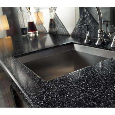 2 in. x 2 in. Solid Surface Countertop Sample in Merapi