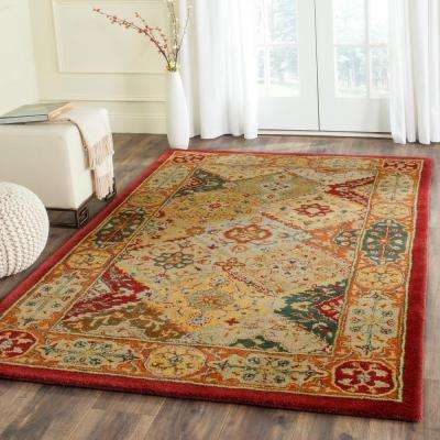 Heritage Multi 5 ft. x 12 ft. Runner Rug
