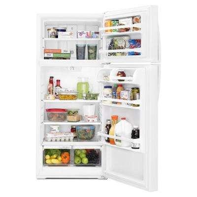 16 cu. ft. Top Freezer Refrigerator in White