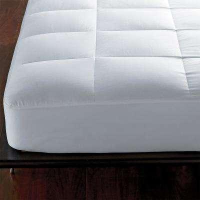 300 Gussett Pillow Protector White