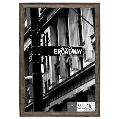 24 in. x 36 in. Graywash Poster Picture Frame