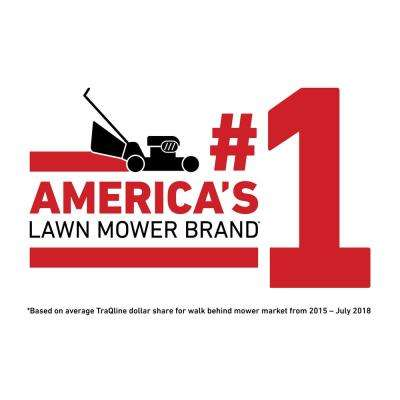 Recycler 21 in. Briggs and Stratton Low Wheel RWD Gas Walk Behind Self Propelled Lawn Mower with Bagger