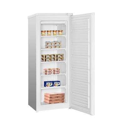 5.8 cu. ft. Upright Freezer in White
