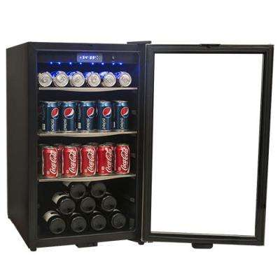19 in. 124-Can Free-Standing Beverage Center