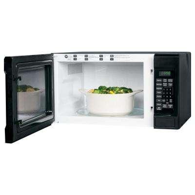 1.4 cu. ft. Countertop Microwave in Black
