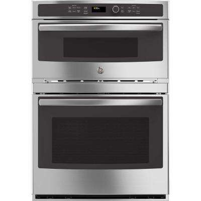 30 in. Electric Wall Oven with Built-In Microwave in Stainless Steel