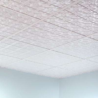 64 sq. ft. White Surface Mount Ceiling Grid Kit