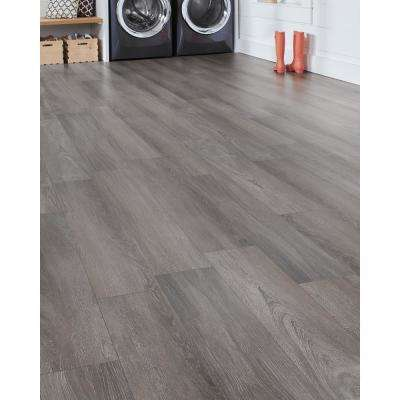 Gainsboro Oak 12 mm Thick x 8.03 in. Wide x 47.64 in. Length Laminate Flooring (15.94 sq. ft. / case)