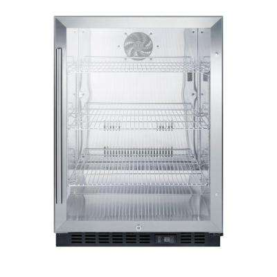 24 in. 5 cu. ft. Commercial Refrigerator in Black