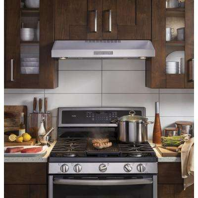 Profile 30 in. Under the Cabinet Convertible Range Hood in Stainless Steel