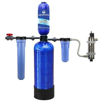 Rhino Series 6-Stage 600,000 Gal. Well Water Filtration System with Simply Soft Salt-Free Water Softener and UV Filter