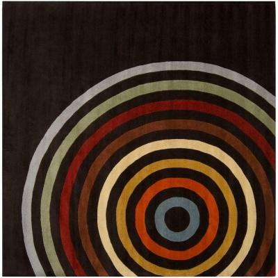 Michael Brown 8 ft. Square Area Rug
