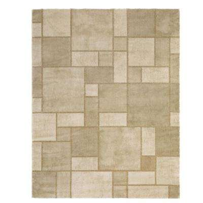 Montage Beige 9 ft. 2 in. x 11 ft. 11 in. Area Rug