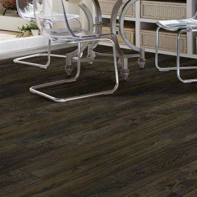 Primavera 7 in. x 48 in. Coffee Resilient Vinyl Plank Flooring (18.91 sq. ft. / case)
