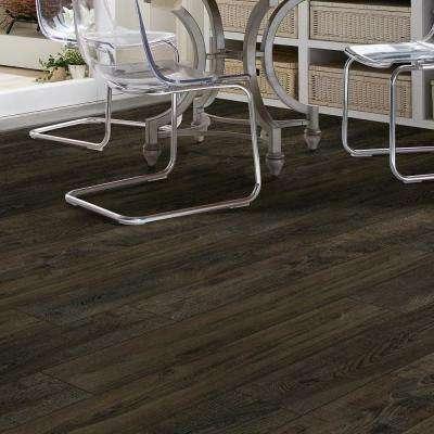 Primavera 7 in. x 48 in. Coffee Resilient Vinyl Plank Flooring (18.91 sq. ft. / case)