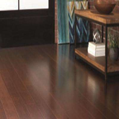 Strand Woven Java 1/2 in. T x 5-1/8 in. W x 72 in. L Solid Bamboo Flooring