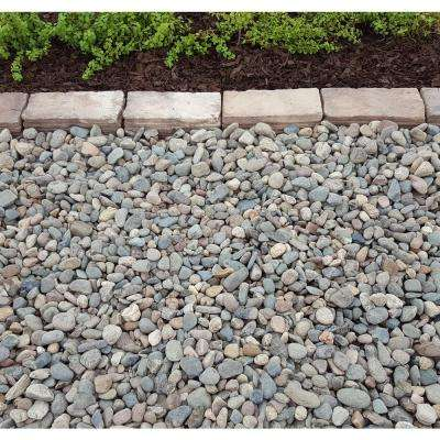 10 cu. ft. Large River Rock Assorted Decorative Stone - (1 Bag/10 cu. ft./Pallet)