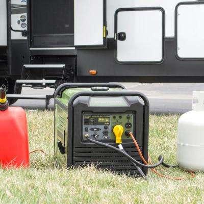 3,500-Watt/3,000-Watt Dual Fuel LPG/Gasoline Powered Recoil Start Portable Digital Inverter Generator