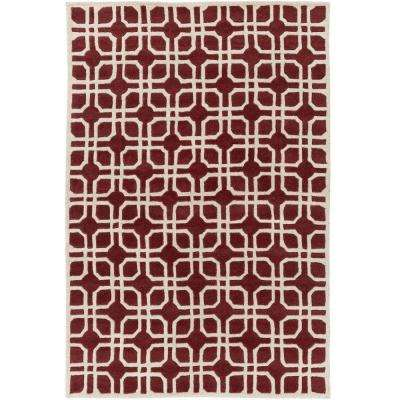 Transit Madison Cherry 8 ft. x 11 ft. Indoor Area Rug
