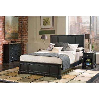 Bedford Black Queen-size Bed