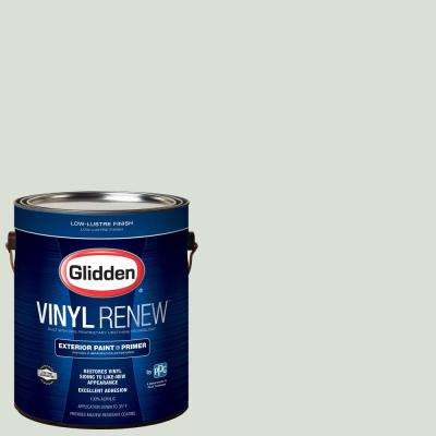 1 gal. #HDGCN15 Oriental Ivory Low-Lustre Exterior Paint with Primer