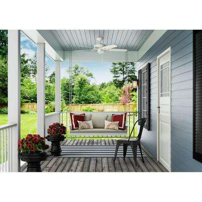 Tidewater 52 in. Indoor/Outdoor Fresh White Ceiling Fan
