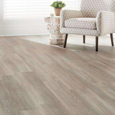 Crystal Oak 7.5 in. x 47.6 in. Luxury Vinyl Plank Flooring (24.74 sq. ft. / case)