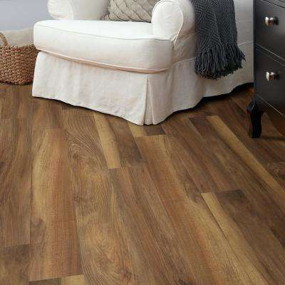 Jefferson 7 in. x 48 in. Brazen Resilient Vinyl Plank Flooring (18.68 sq. ft. / case)