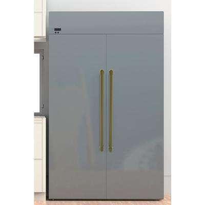 18 in. Center-to-Center Refrigerator Pull in Venetian Bronze
