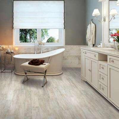 White Pergo Laminate Flooring