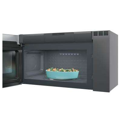 Profile 2.1 cu. ft. Over the Range Microwave in Stainless Steel with Sensor Cooking